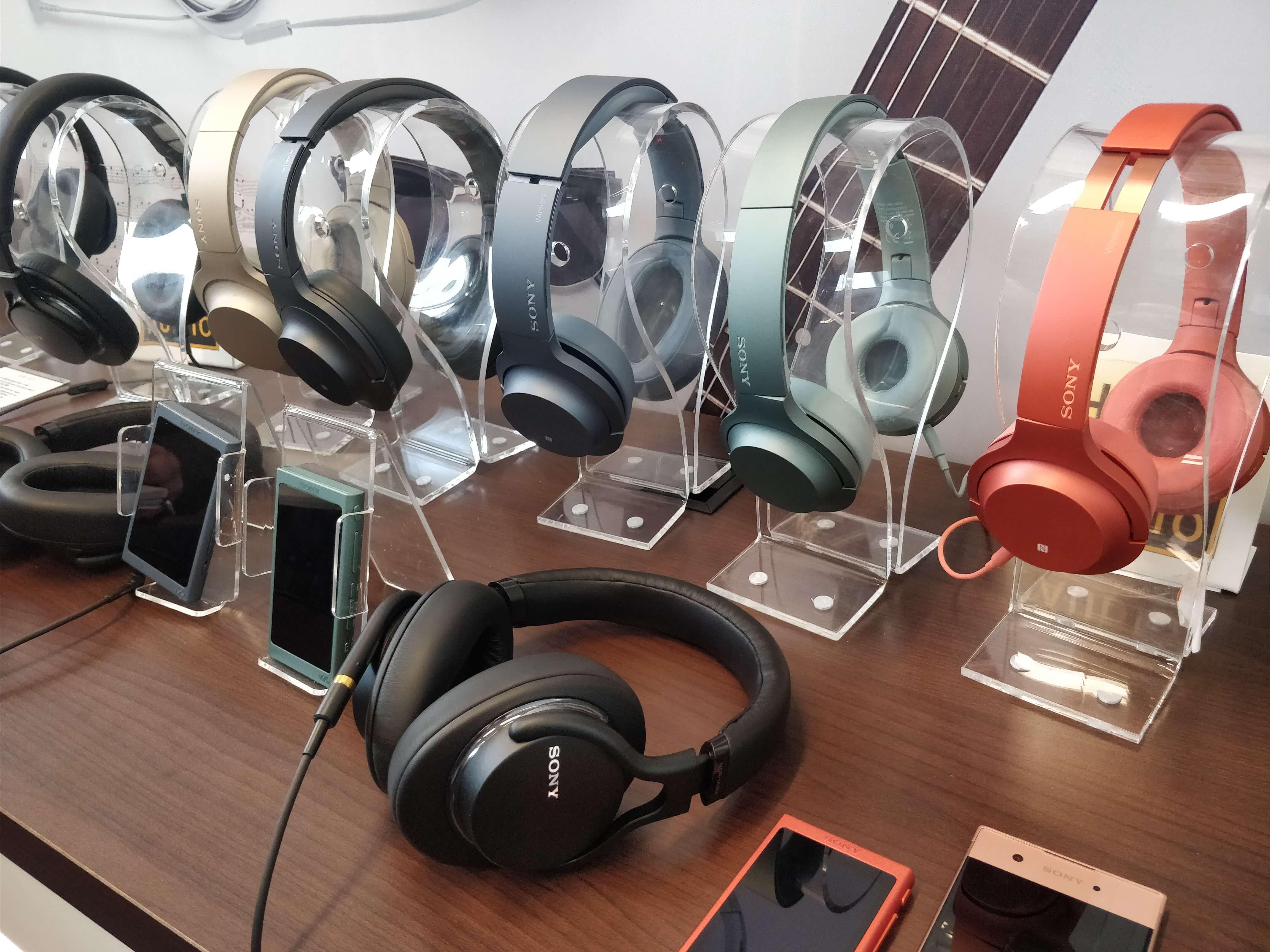 Sony a présenté sa nouvelle gamme de casques, d'écouteurs et d'enceintes !