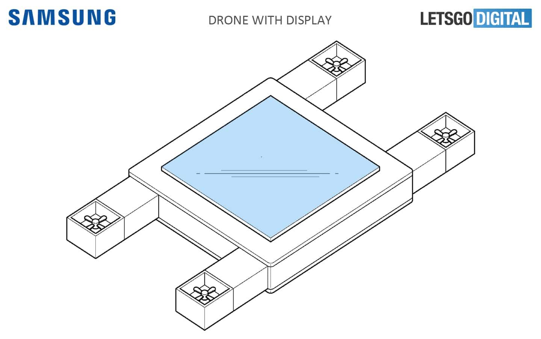 Samsung : un smartphone volant en préparation ?
