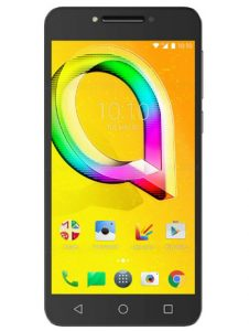 Alcatel A5 LED Argent