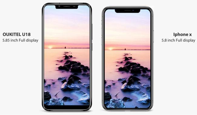 L'iPhone X honteusement copié par Ouiktel