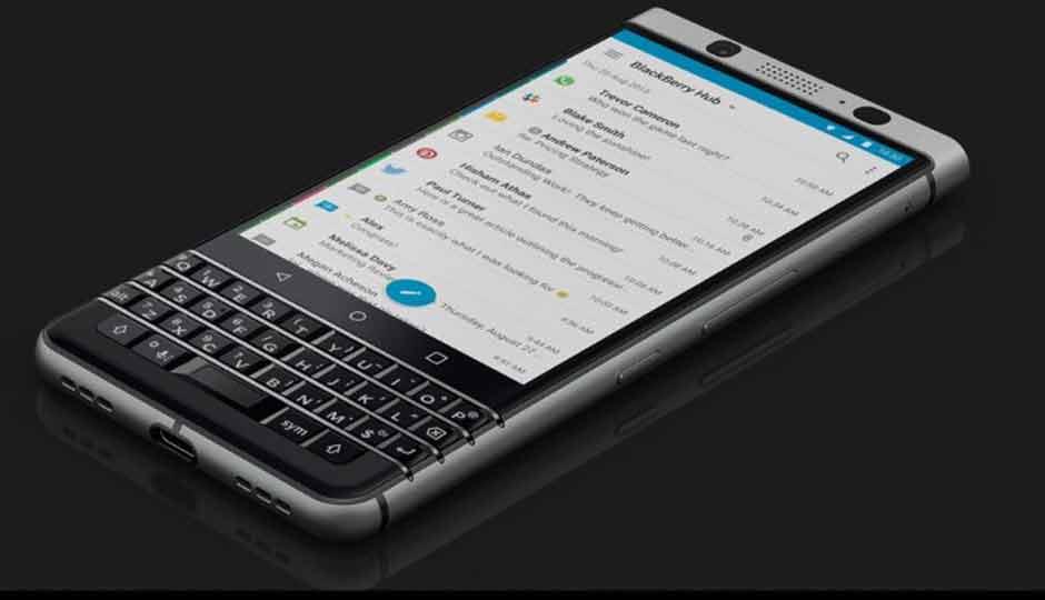 BlackBerry KeyOne : pour la firme, c'est « mission accomplie » malgré des ventes maigres !