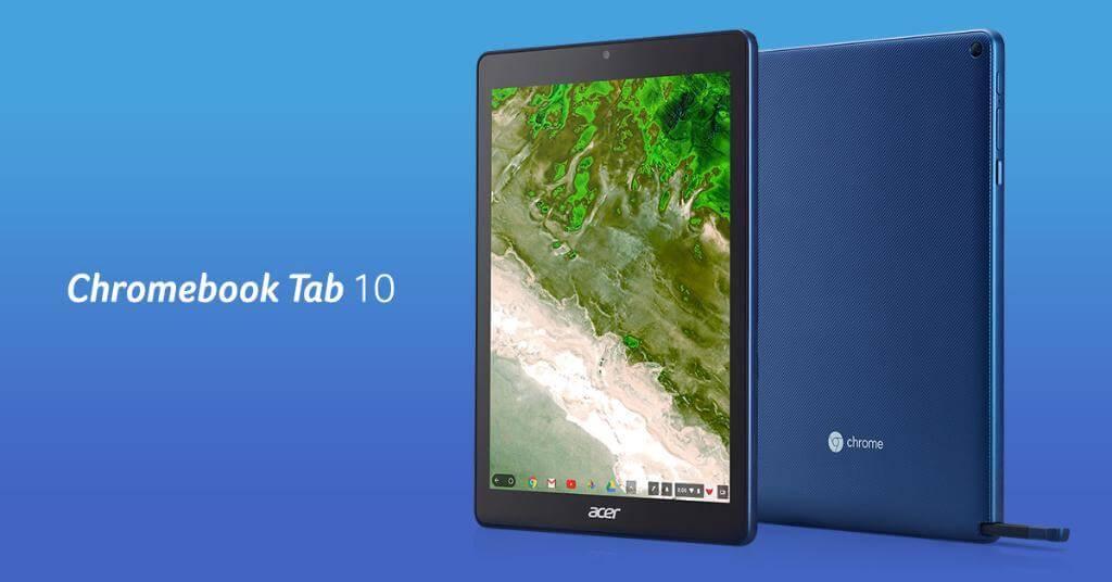 Acer : la première tablette sous Chrome OS vient d'être dévoilée