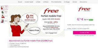 Forfait Free Mobile 100 Go Vente Privee
