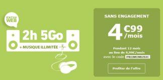 Forfait La Poste Mobile 2h 5 Go