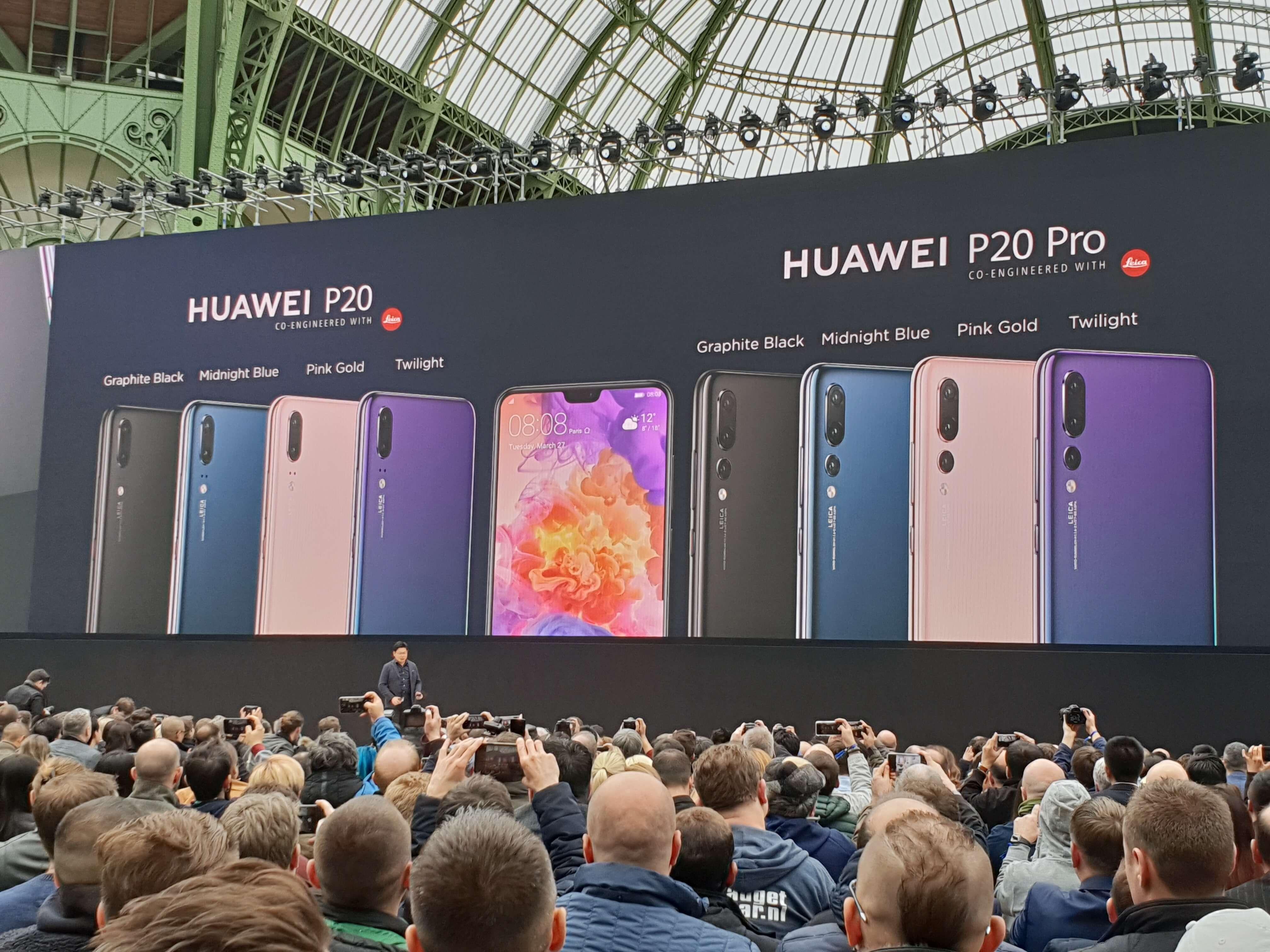 Huawei P20 et P20 Pro à 549 et 799 euros chez Fnac avec une caméra 360° offerte !