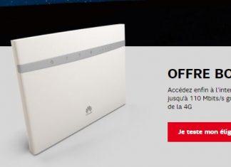 Offre box 4G de SFR