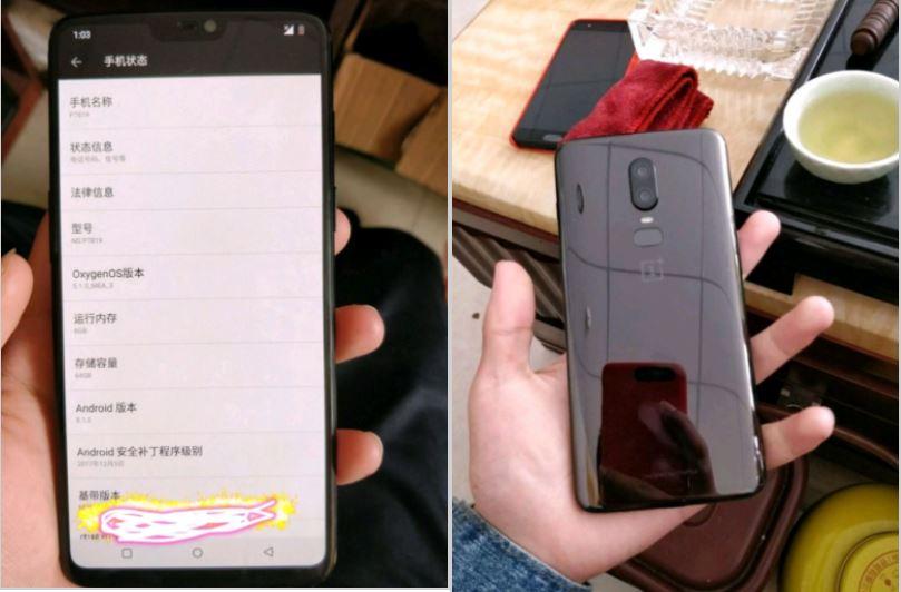 OnePlus 6 : le successeur du 5T aura bien une encoche comme l'iPhone X