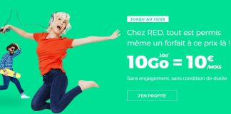 RED by SFR forfait 10 Go