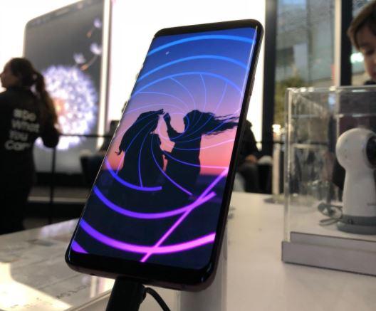 Samsung Galaxy S9 - un sublime écran