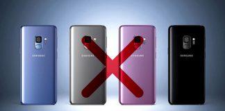 Samsung Galaxy S9 croix