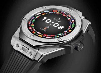 Smartwatch Hublot coupe du monde
