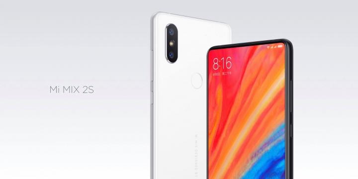 Xiaomi Mi Mix 2S officiel : il explose tout sur DxOMark et égalise l'iPhone X !