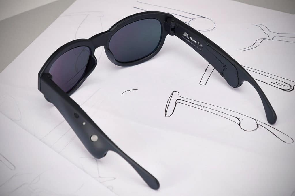 Bose dévoile les premières lunettes de réalité augmentée audio !