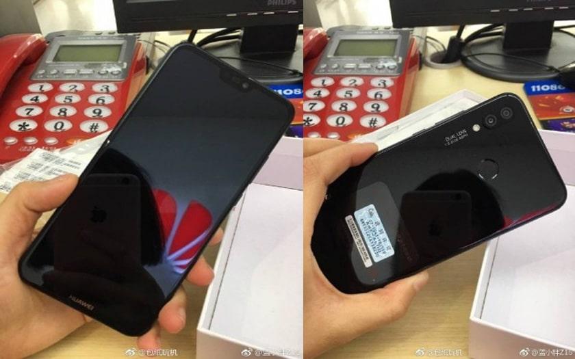 Le Huawei P20 Lite fuite : une encoche présente, un triple capteur photo absent