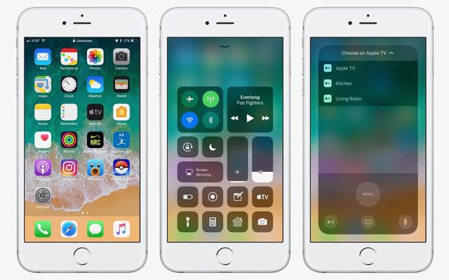 iOS 11 : un bug dans l'OS d'Apple apparaît dans une pub !