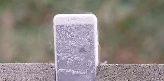 iPhone bloqué par le froid