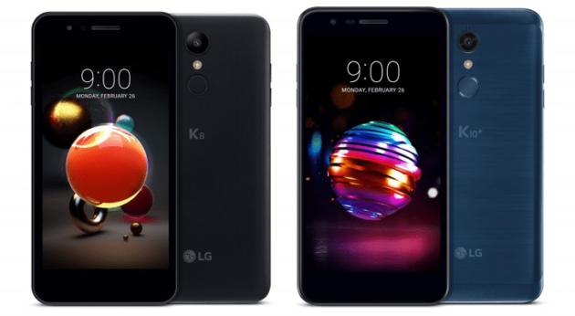 LG K8 et K10 : des smartphones d'entrée de gamme en attendant le LG G7 ?