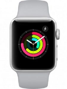 Apple Watch 3 GPS Alu 38mm Bracelet Sport Argent