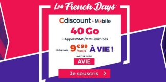 Cdiscount 40 Go French Days