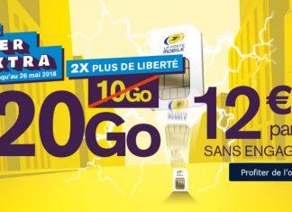 Forfait La Poste Mobile 20 Go
