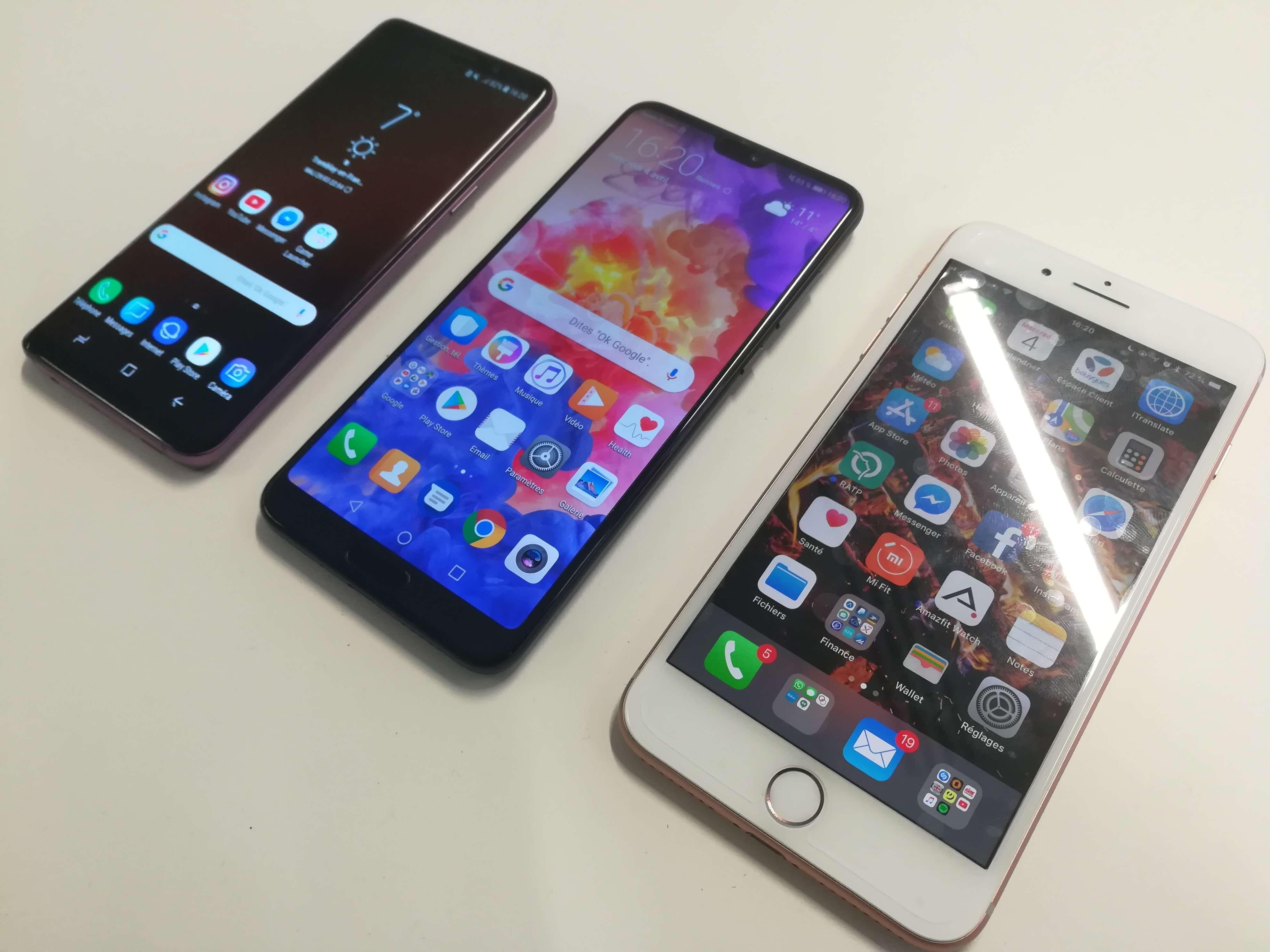 Comparatif S Iphone