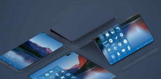 Microsoft Surface Phone pliable