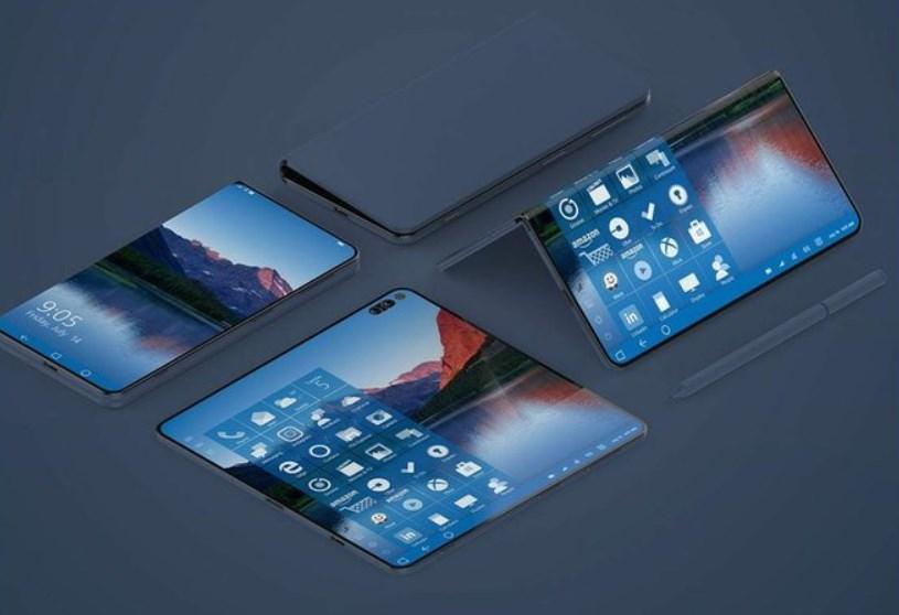 Microsoft : bientôt un Surface Phone avec un écran pliable ?