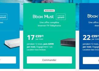 Nouvelles box internet de Bouygues Telecom