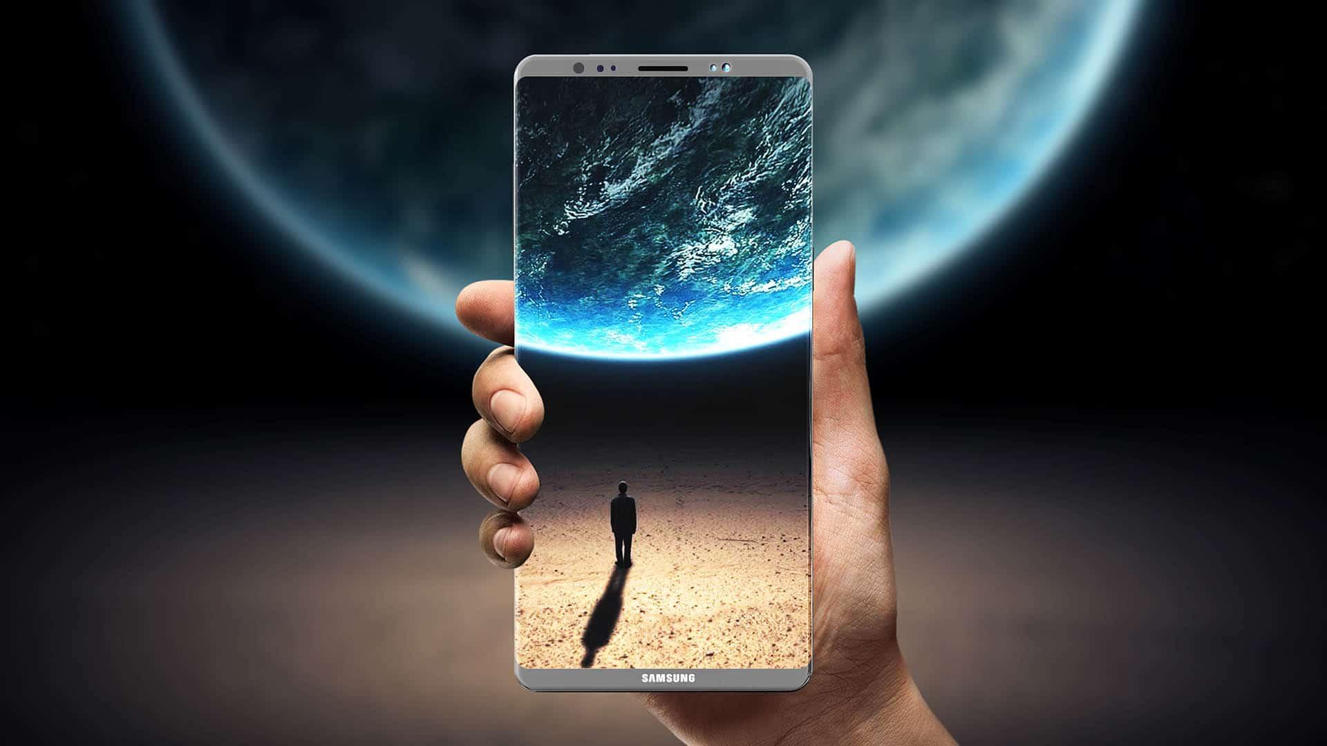 Le Samsung Galaxy S10 disposerait d'un capteur d'empreintes sous l'écran et d'une caméra 3D