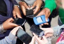 Smartphones école