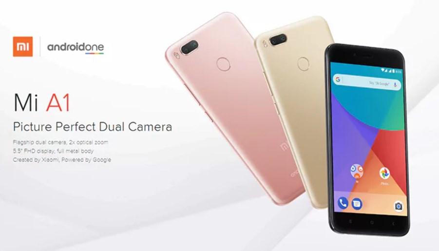 French Days : Xiaomi Mi A1 à 160 euros sur GearBest