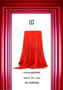OnePlus 6 : le flagship killer à encoche présenté le 5 mai ?
