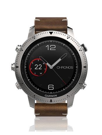 montre garmin fenix chronos marron cuir 503 1 - Quelle montre connectée Garmin acheter actuellement?