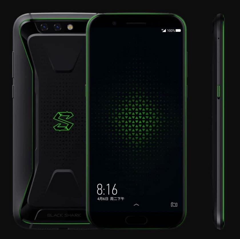 Xiaomi Black Shark en tête du top 10 des smartphones les plus puissants selon AnTuTu !