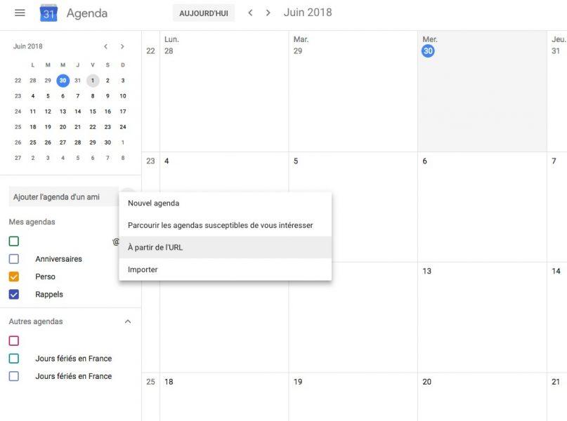 Agenda coupe du monde 01 807x600 - Planifiez votre Coupe du monde de football avec Google Agenda