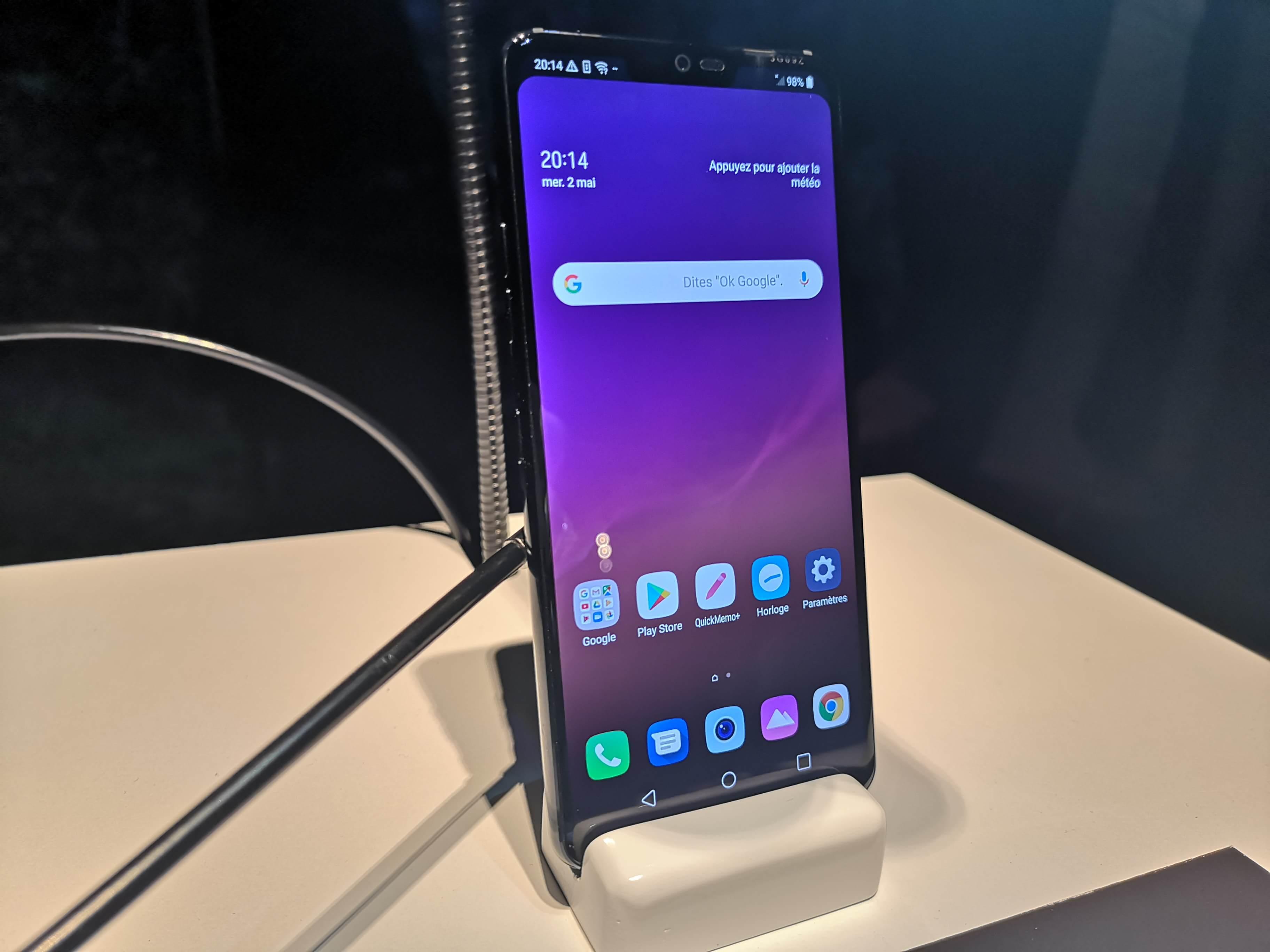 [ Prise en main ] LG G7 ThinQ : il lui manque encore quelque chose