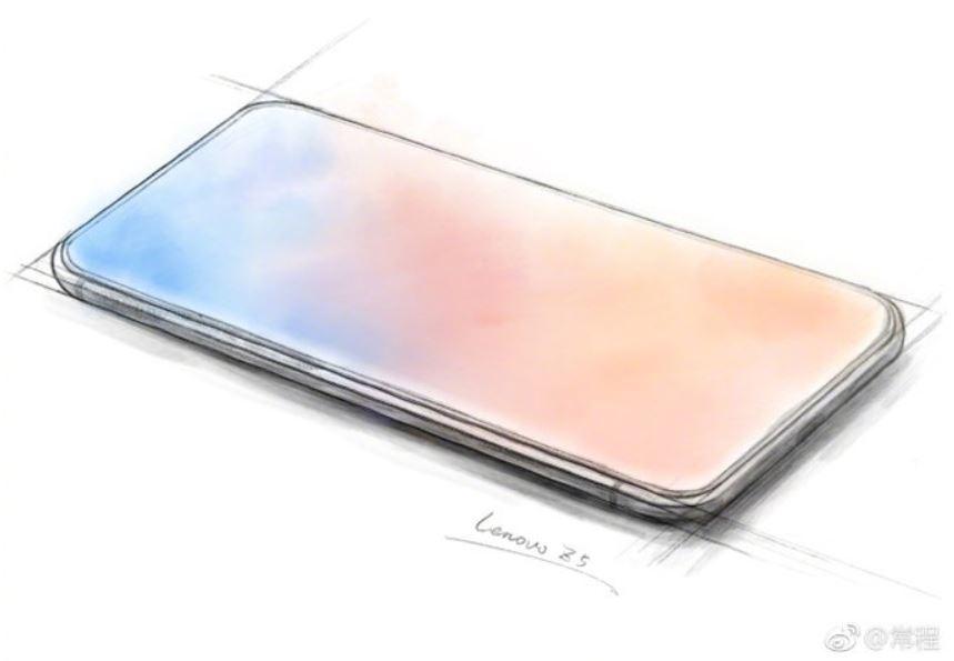 Lenovo Z5 : le smartphone 100% borderless et sans encoche se dévoile !