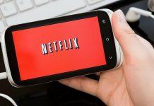 Netflix sur un smartphone