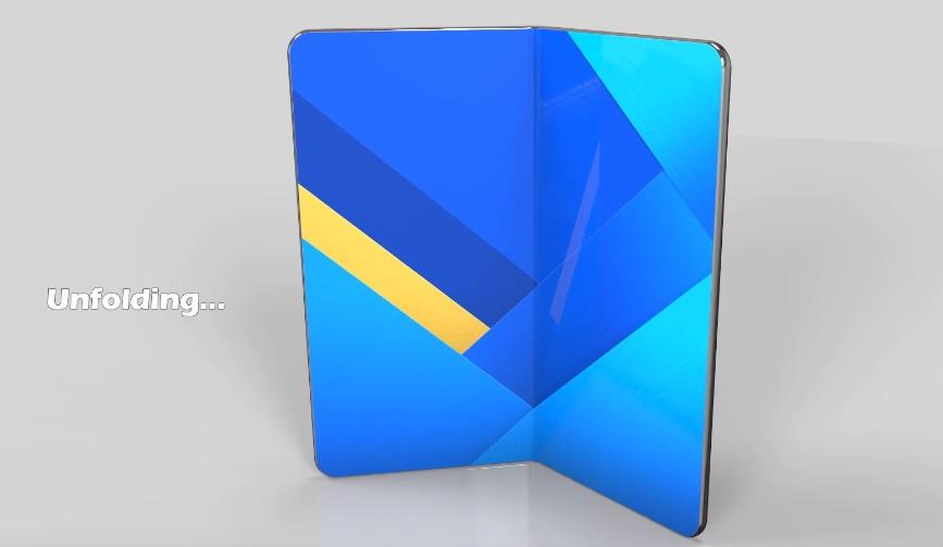 Samsung Galaxy X : un smartphone pliable avec un écran transparent ?