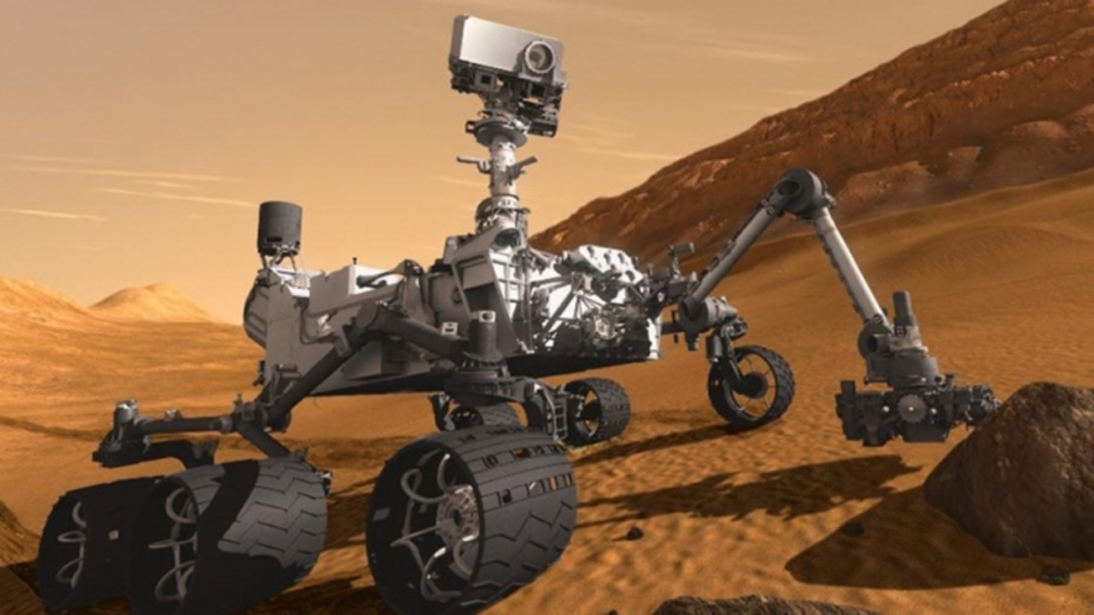 Un robot sur Mars