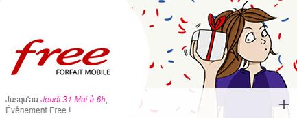 Vente Privée : prolongation du forfait 100 Go de Free Mobile à 4.99 euros !