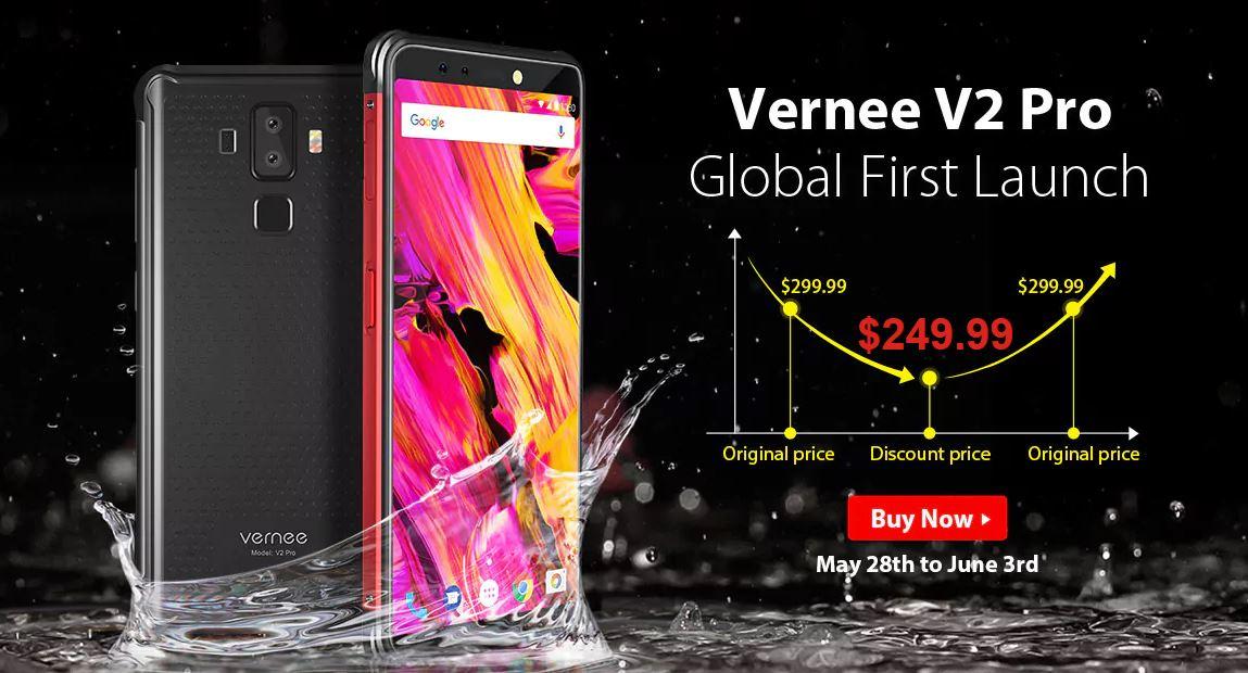 Bon plan : le Vernee V2 Pro est dispo exclusivement sur GearBest à 219 euros !