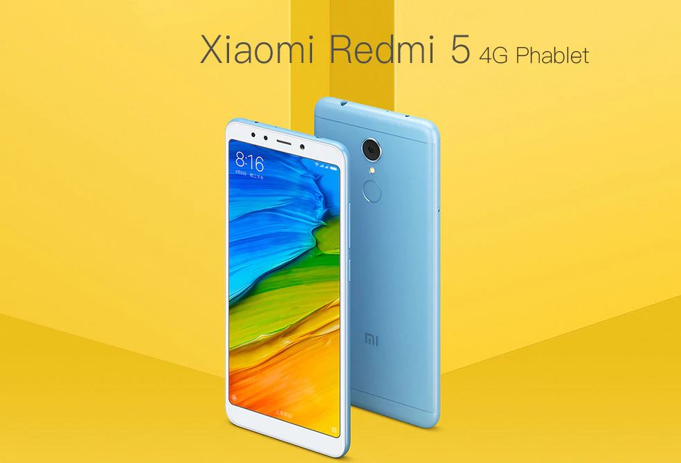 Bon plan : le Xiaomi Redmi 5 passe à 120 euros sur GearBest