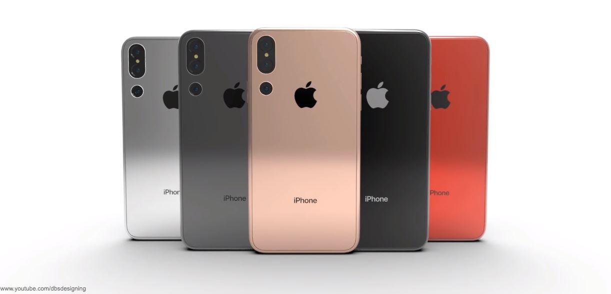 [ VIDEO ] iPhone X 2018 : une nouvelle apparition avec trois capteurs photo