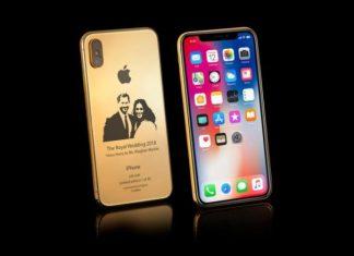 iPhone X Prince Harry Meghan Markle