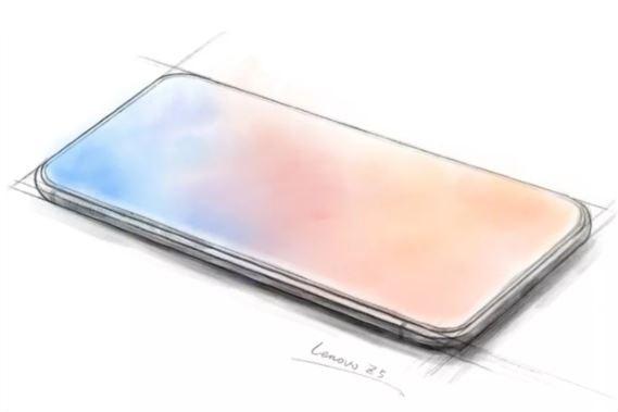 lenevoo 1 - Lenovo pense à un smartphone full borderless sans encoche !