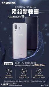 samsung A9 169x300 - Le Samsung Galaxy A9 Star de nouveau en fuite