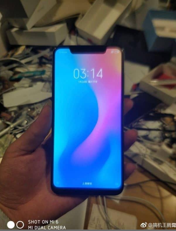 Xiaomi Mi 7 fuite