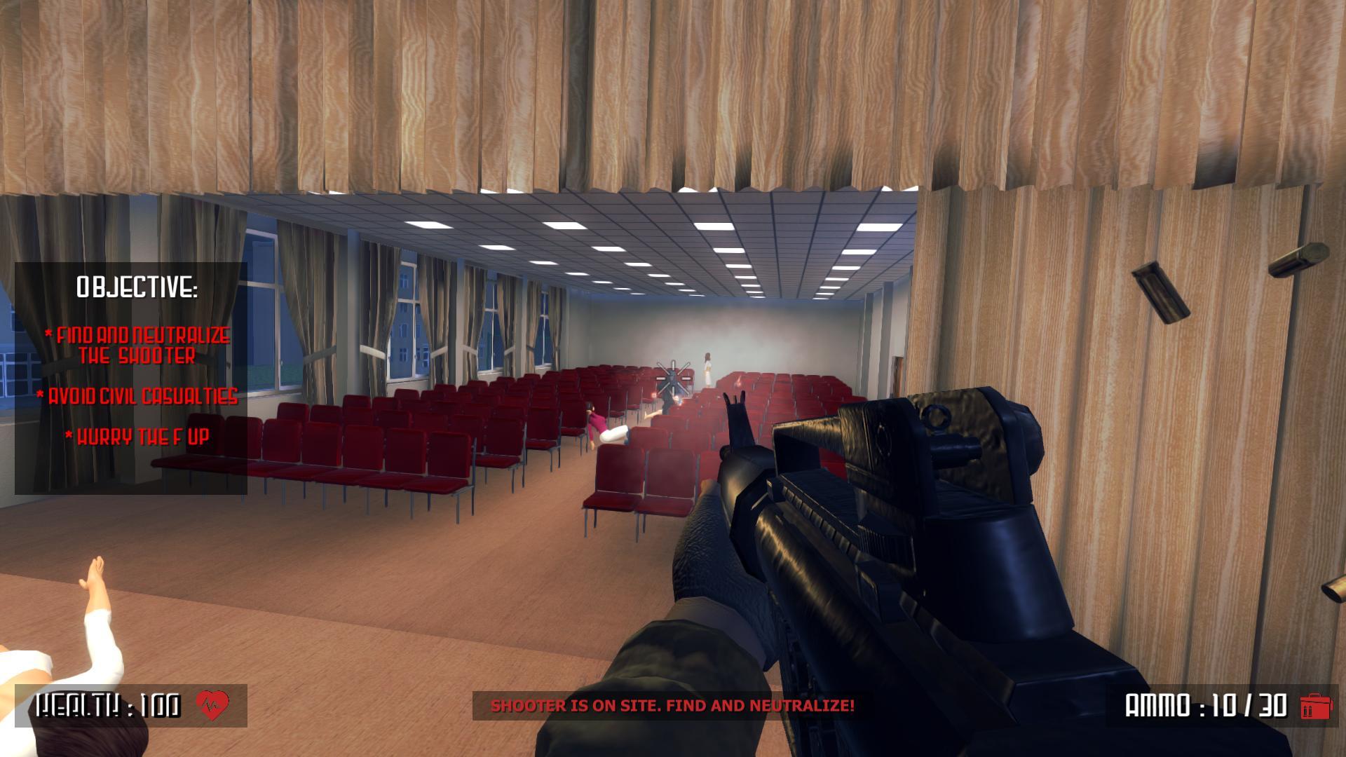 Active Shooter : le jeu de simulation de tuerie de masse dans une école n'est plus sur Steam