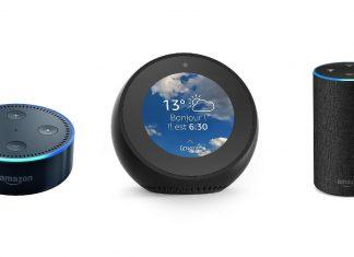 Amazon Echo Dot Amazon Echo Spot et Amazon Echo